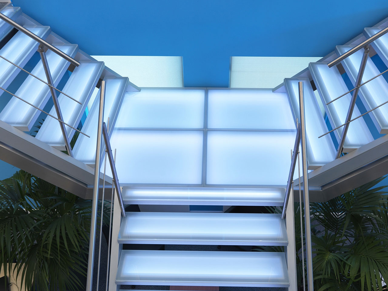 Beispiel Aluminiumtreppe